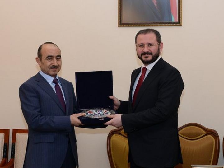Руководители Анатолийского агентства и канала ТРТ Турции проводят встречи в Азербайджане - ФОТО