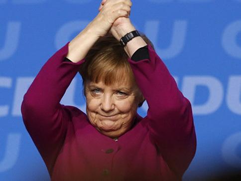 В Германии утвердят Меркель в должности канцлера
