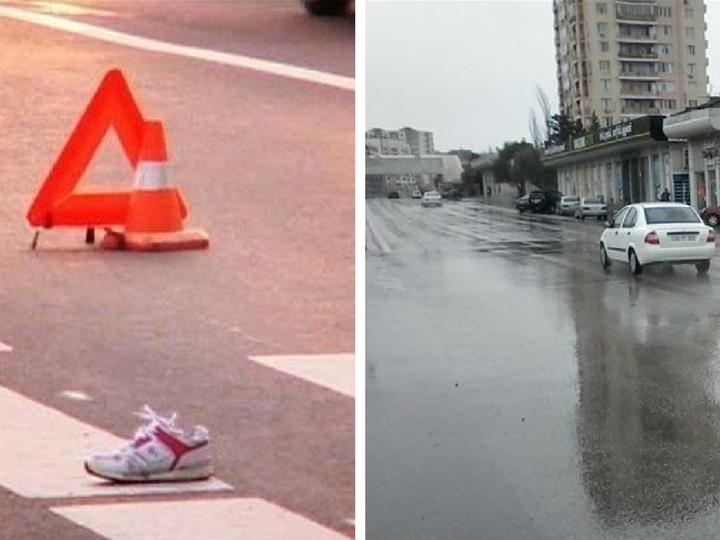 В Баку арестован водитель грузовика, сбивший женщину с двумя детьми и скрывшийся с места ДТП