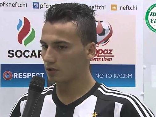 Рахман Гаджиев: «В матче с «Карабахом» выйдем на поле за победой» - ВИДЕО