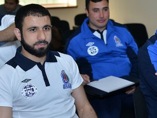 Эльчин Рахманов понаблюдает за соперниками сборной Азербайджана