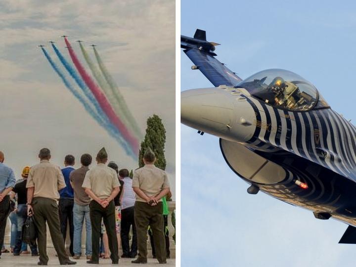 Турецкие пилоты покажут авиашоу в небе Баку – ФОТО – ВИДЕО