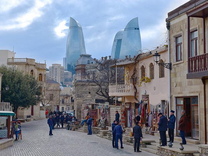 Азербайджанвошел в топ-20 российских туристов