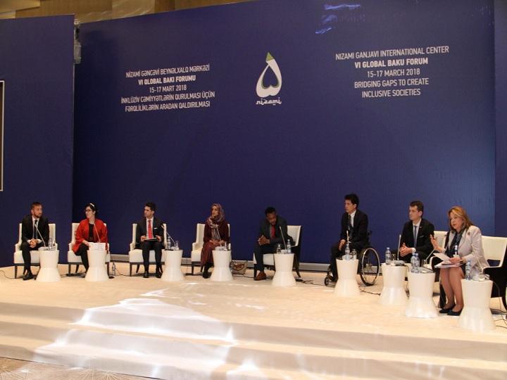 VI Qlobal Bakı Forumu çərçivəsində gənclərin panel müzakirəsi keçirilib – FOTO