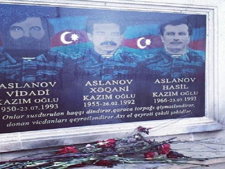 Bakıda şəhid lövhəsi təhqir olunub – FOTO