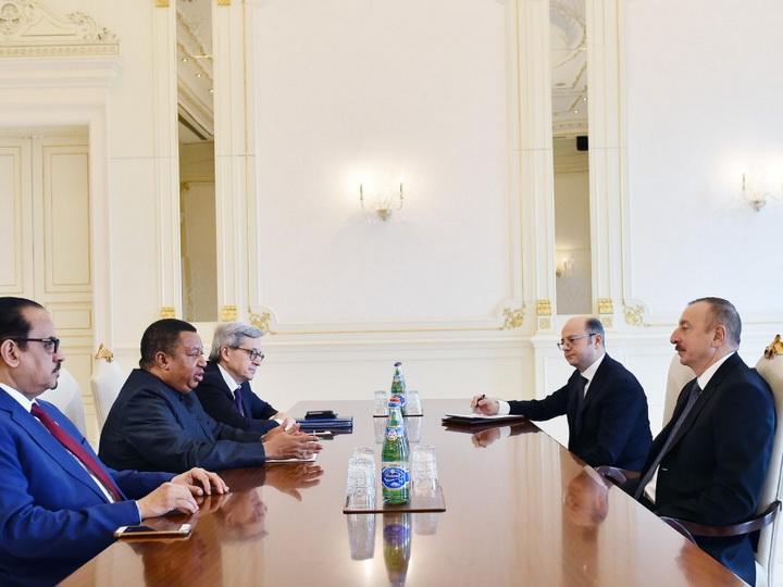 Президент Ильхам Алиев встретился с генеральным секретарем ОПЕК - ФОТО