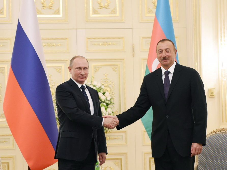 Владимир Путин: Российско-азербайджанские отношения находятся на высоком уровне
