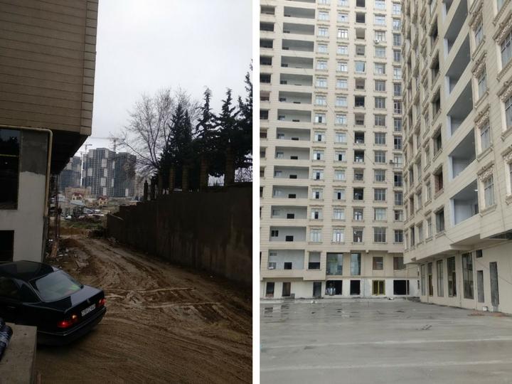Жильцы новостройки в Баку не верят, что их дом когда-нибудь будет сдан… - ФОТО