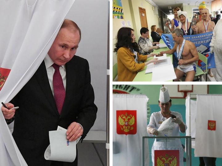Выборы Президента России - 2018: Как это было - ФОТОРЕПОРТАЖ