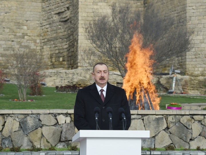 Президент Ильхам Алиев: «Азербайджан встречает Новруз с прекрасными результатами» - ФОТО