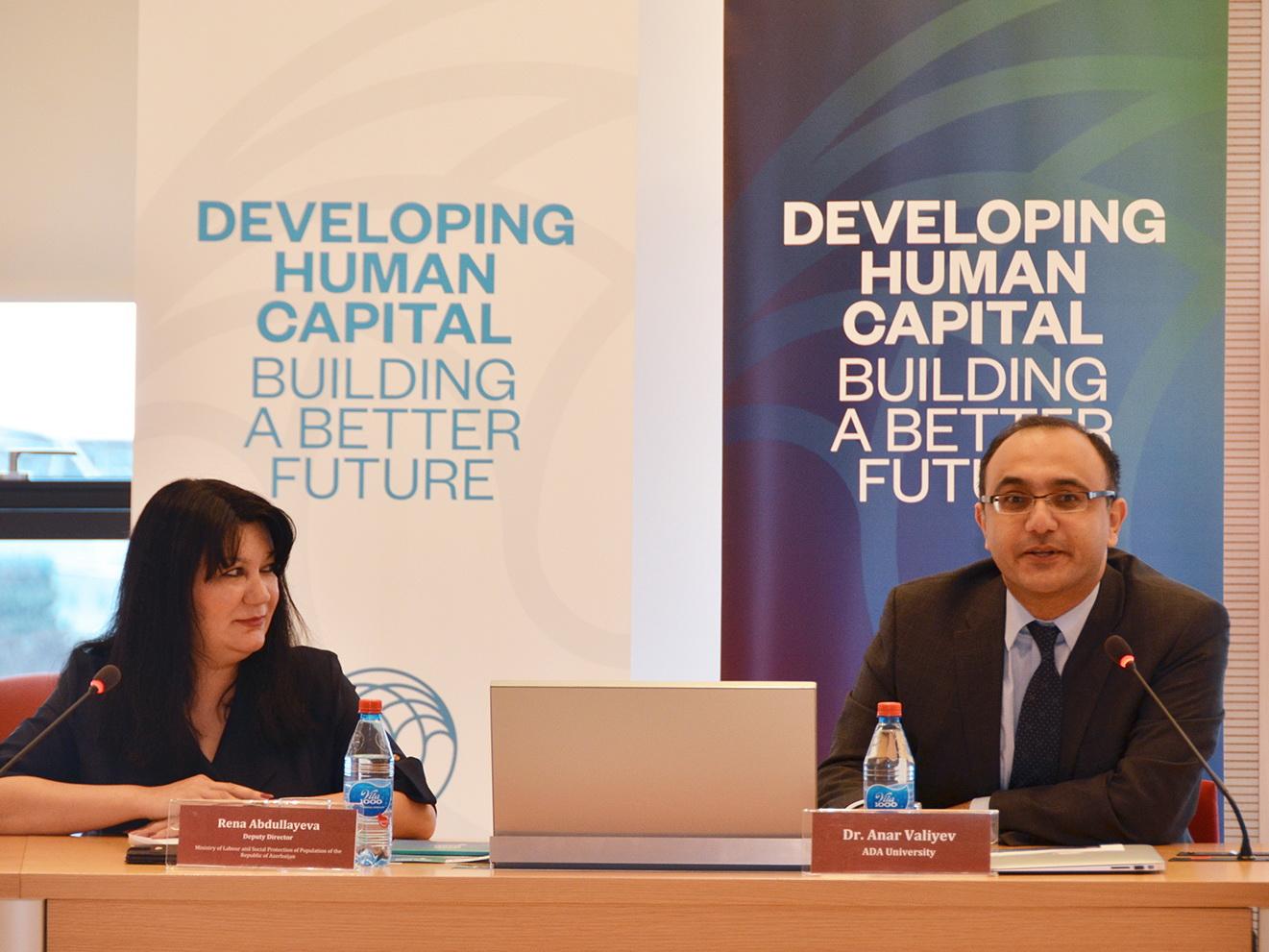 ADA и Expo 2025 Baku провели «круглый стол» на тему будущего труда - ФОТО