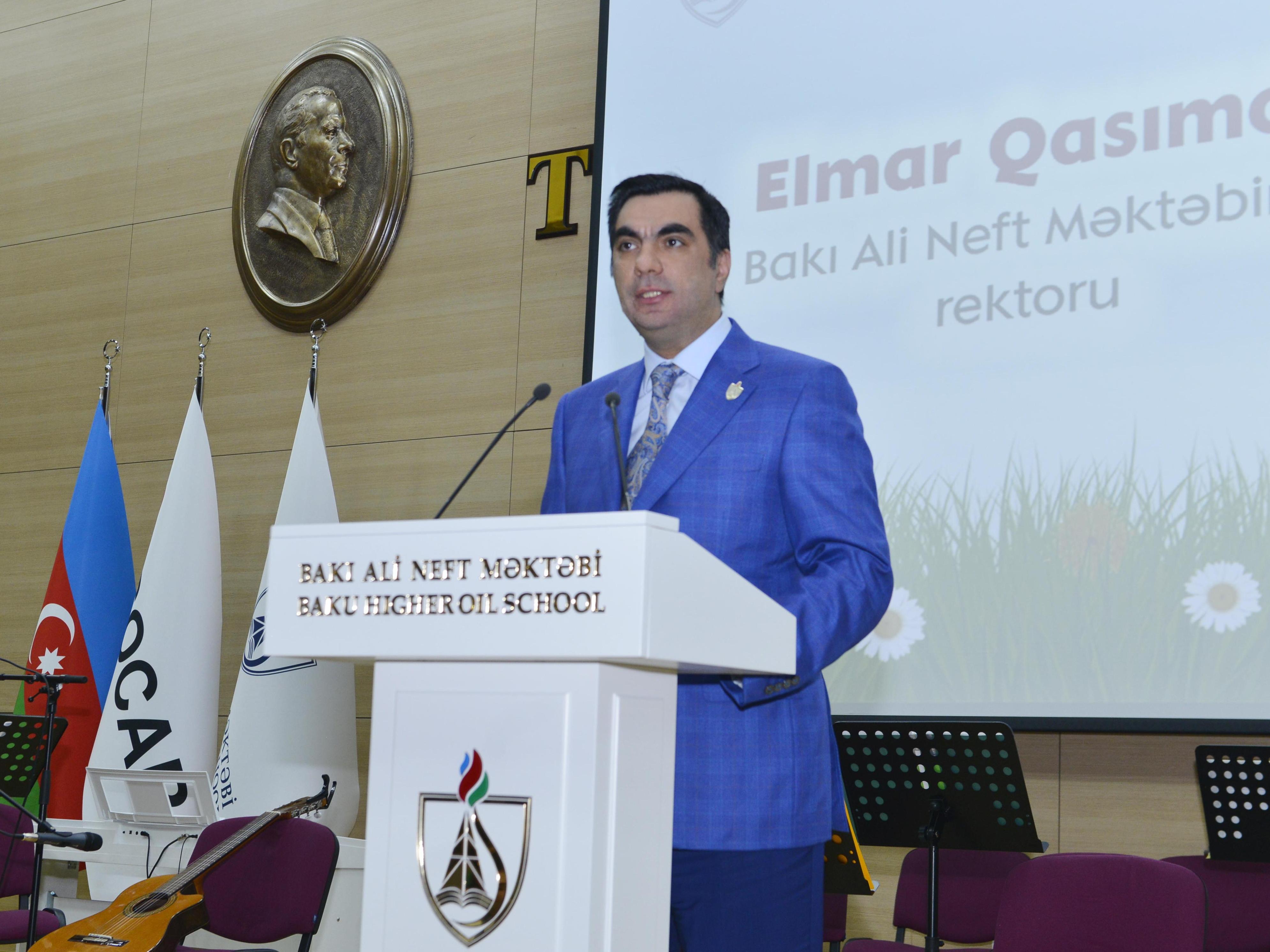 В Бакинской высшей школе нефти отметили Новруз