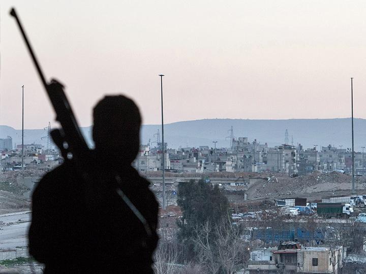 Рядом с Дамаском сбили самолет сирийских ВВС