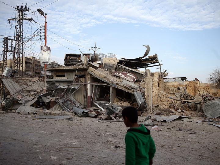 В результате ракетного удара в Дамаске погибли более 30 человек