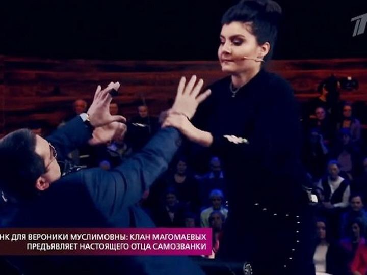 Предполагаемая дочь Муслима Магомаева устроила драку на Первом канале – ФОТО – ВИДЕО