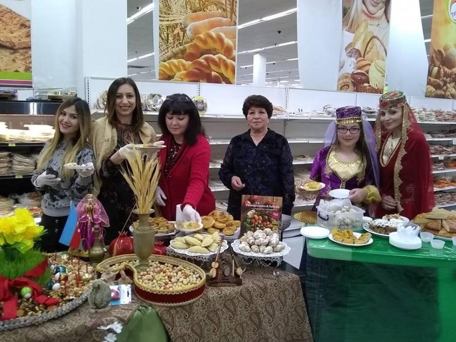 В Калифорнии были представлены кулинарные традиции праздника Новруз - ФОТО