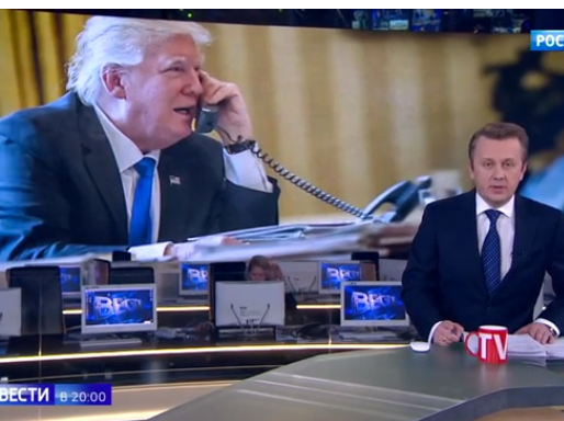 На телеканале «Россия 1» Путина назвали президентом США - ВИДЕО