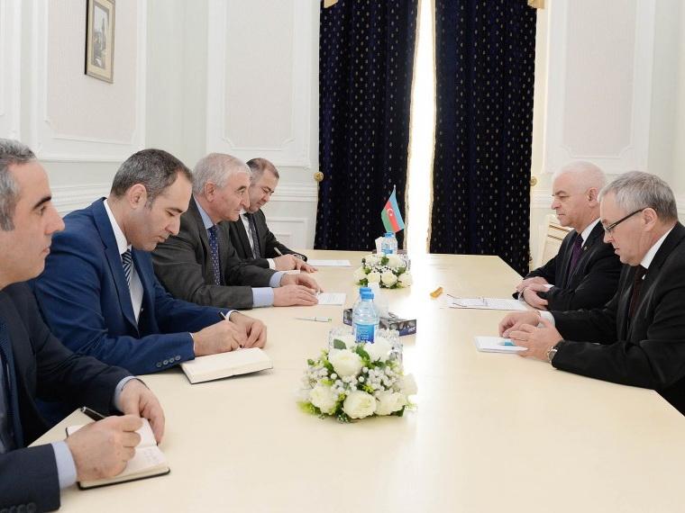 В Центральной избирательной комиссии состоялась встреча с делегацией СНГ