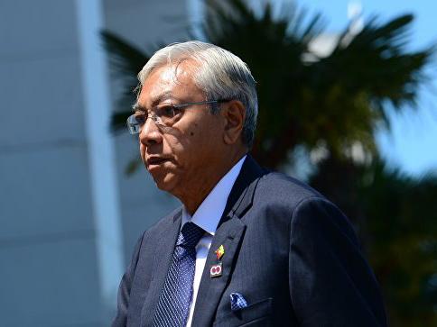 Президент Мьянмы подал в отставку