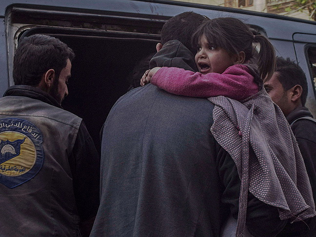 Режим Асада вновь бомбит Восточную Гуту, 59 погибших – ФОТО
