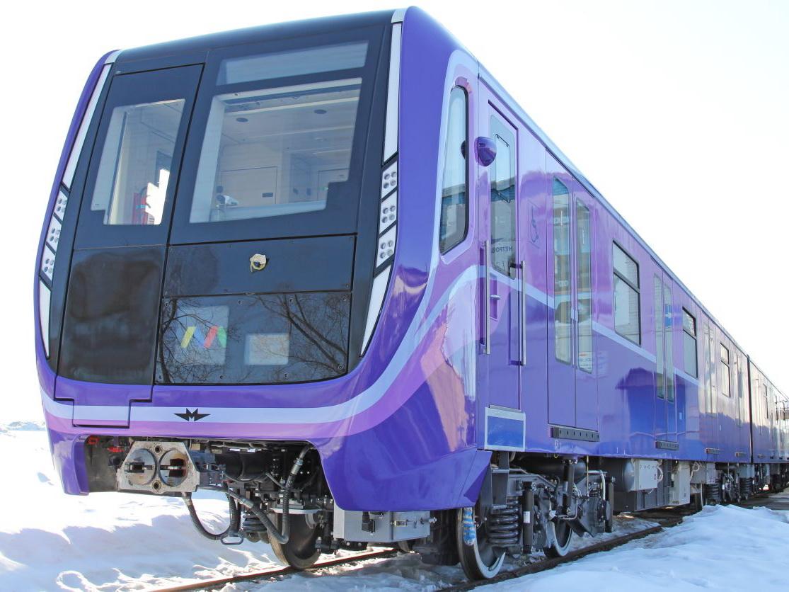 В Баку вскоре прибудет новый поезд метро российского производства