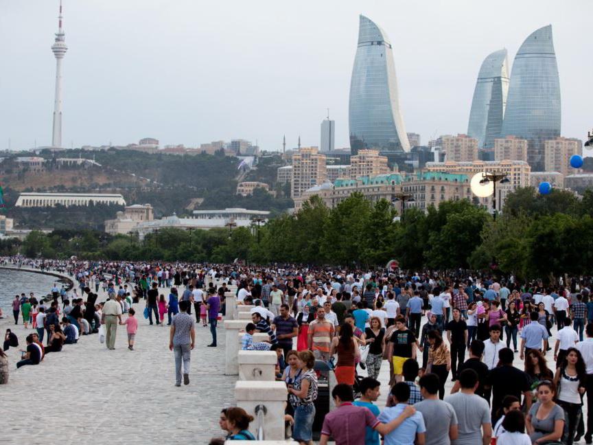 Численность населения Азербайджана превысила 10 миллионов человек