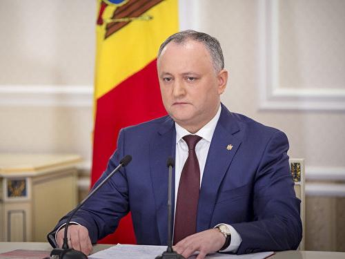Президент Молдовы поздравил Президента Ильхама Алиева
