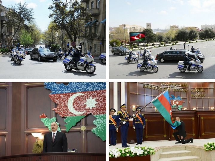 Ильхам Алиев принес присягу. Как проходила инаугурация Президента Азербайджана - ФОТО - ВИДЕО