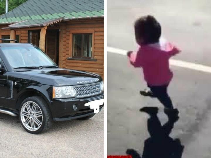 В Баку отец на Range Rover задавил малолетнего сына