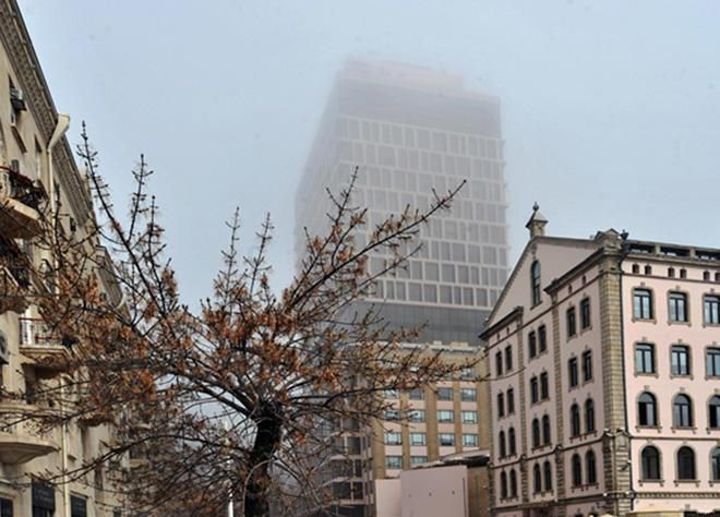 Количество пыли в Баку и Гяндже превышает норму