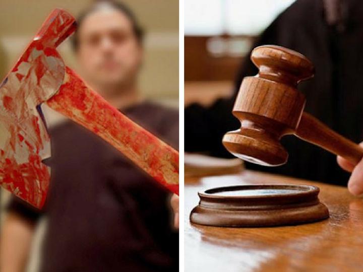 В Азербайджане вынесен суровый приговор мужу и жене, зарубившим родителей топором и залившим их трупы бетоном