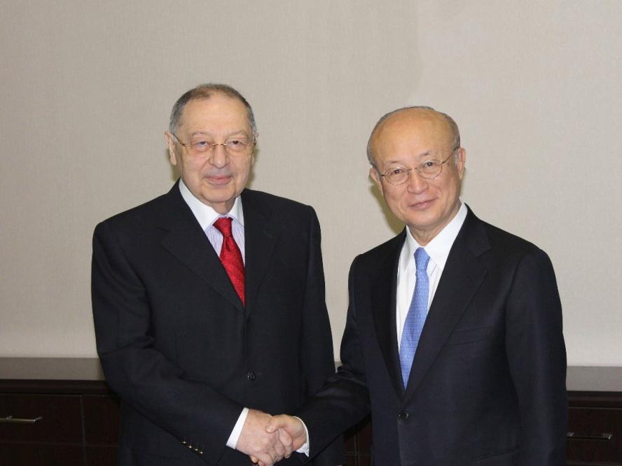 Генеральный директор Международного агентства по атомной энергии посетил Национальный центр онкологии - ФОТО