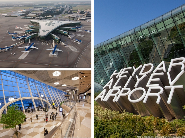 Врата в Азербайджан: Новый терминал Международного аэропорта Гейдар Алиев