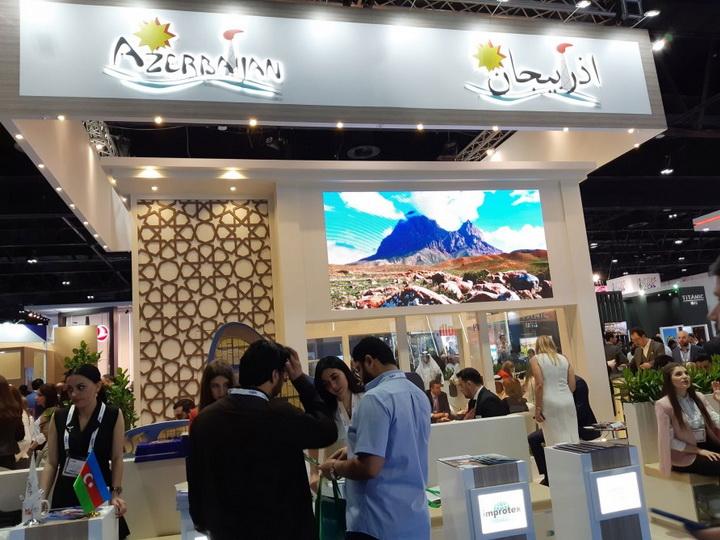 Посольство Азербайджана пресекло провокацию Армении на Международной туристической выставке в Дубае - ФОТО