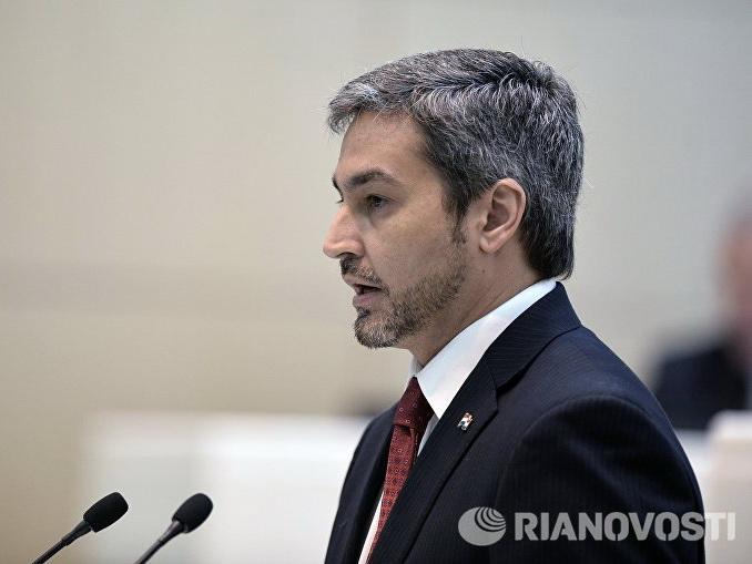 В Парагвае кандидат от правящей партии побеждает на выборах президента
