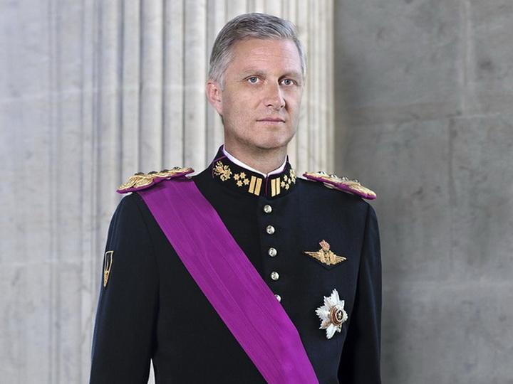 Бельгийский король Филипп поздравил Ильхама Алиева с переизбранием на пост главы государства