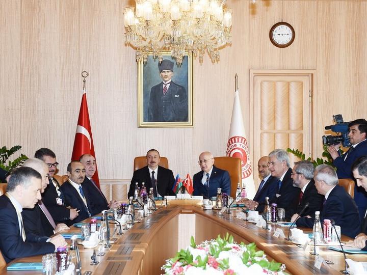 Спикер парламента Турции: Президент Ильхам Алиев – важная личность не только для своей страны, но и для региона и мира