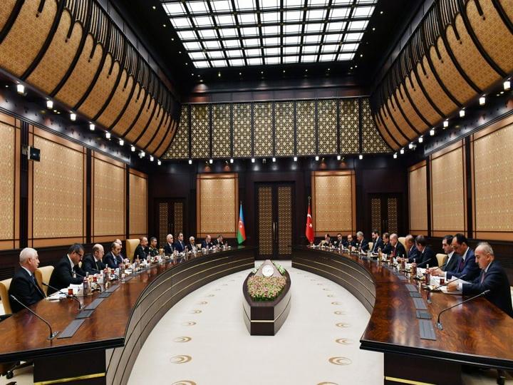 Состоялось седьмое заседание Совета стратегического сотрудничества высокого уровня Азербайджан-Турция- ФОТО