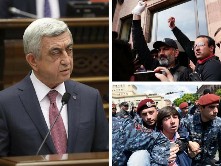 Deutsche Welle: Отставка Саргсяна – только начало перемен в Армении