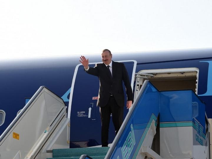 Завершился официальный визит Президента Ильхама Алиева в Турцию - ФОТО