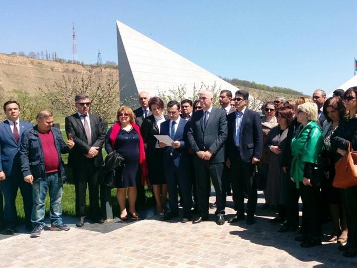 Азербайджанские НПО распространили заявление в связи со 100-летием 31 Марта – геноцида азербайджанцев - ФОТО
