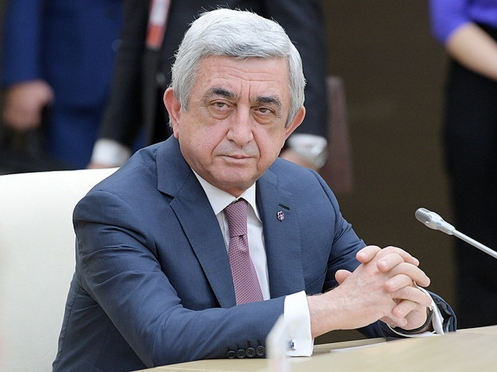 Серж Саргсян: «Я вынужден вновь выступить с публичным обращением к народу…»