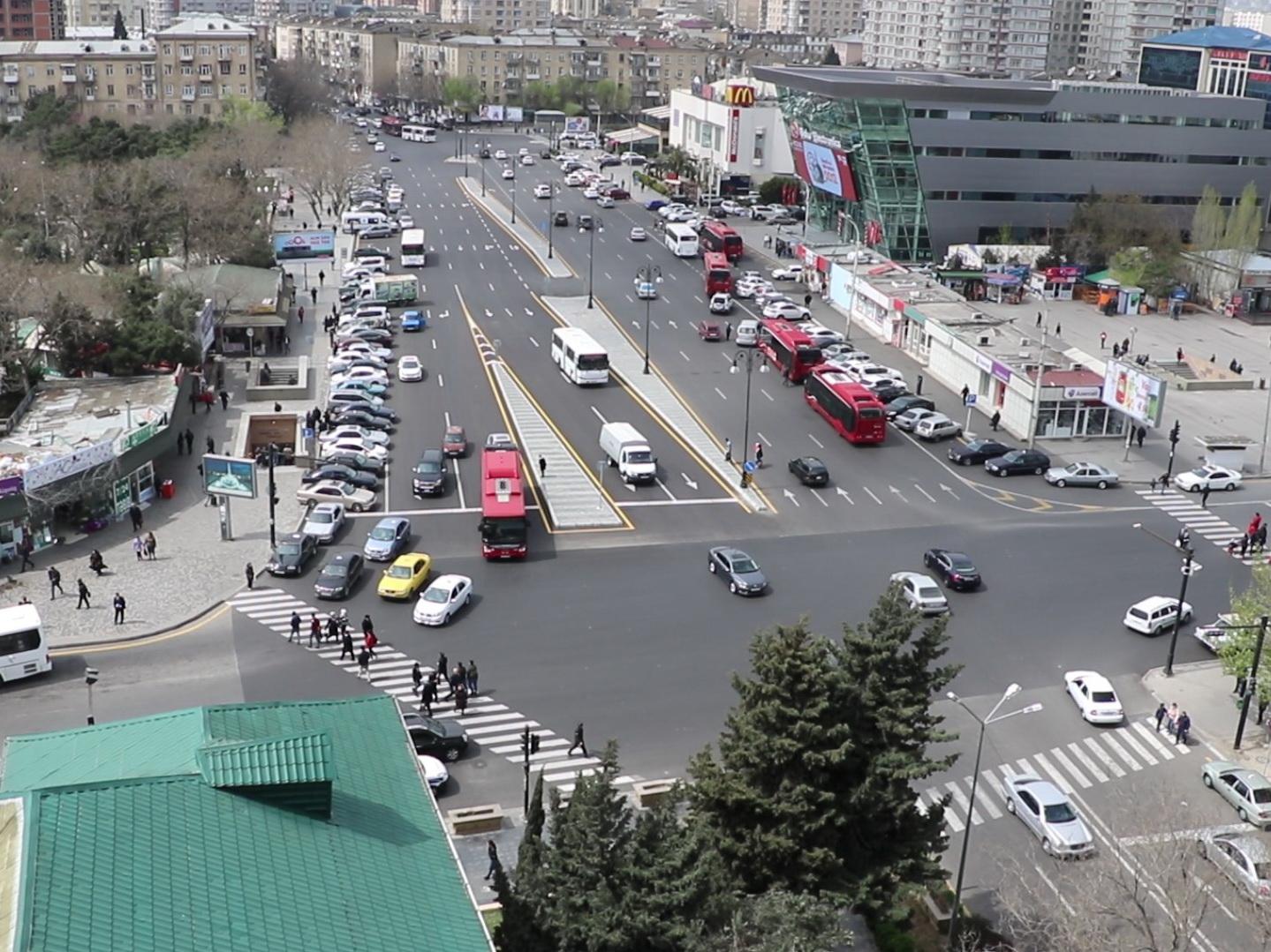 Полностью изменено дорожное движение у станции метро «Нариман Нариманов» - ФОТО – ВИДЕО