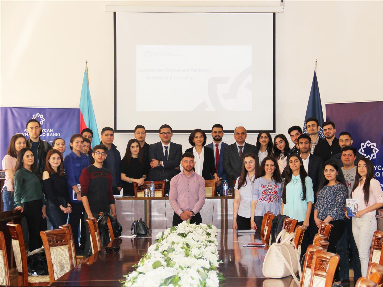 Международный банк Азербайджана провел день карьеры в UNEC