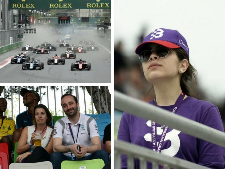 Второй день Гран-при Азербайджана в фотографиях