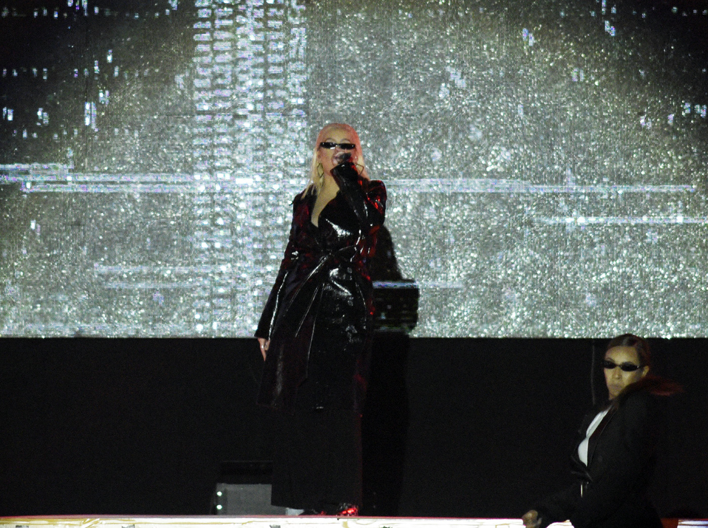 Потрясающее шоу от Кристины Агилеры в рамках Гран-при Азербайджана «Формула-1»