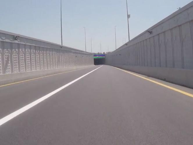 Как проехать с «Дарнагюля» через новый туннель у Олимпийского стадиона в Аэропорт?