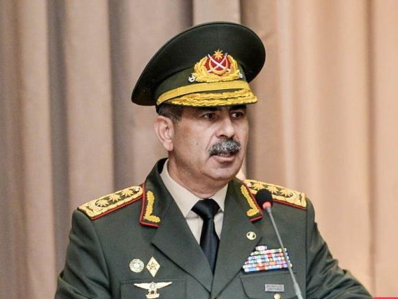 Закир Гасанов о повышении боеспособности войск - ФОТО
