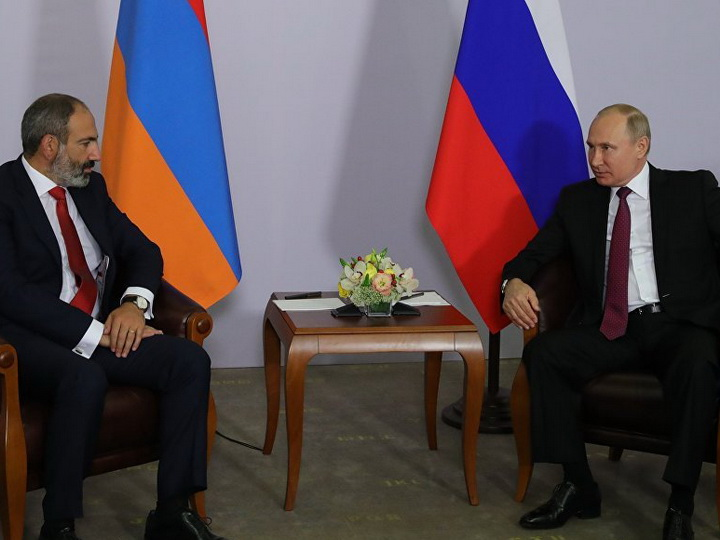 Просьба Пашиняна к Богу хранить Российскую Федерацию предрекла исход его встречи с Владимиром Путинным