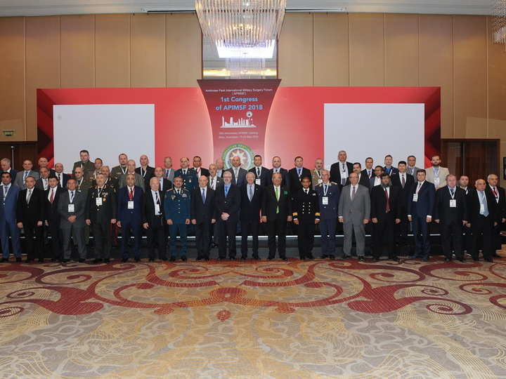 В Баку проходит конгресс влиятельного международного военно-медицинского форума - ФОТО